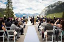 Beautiful Cultural Summer Wedding Fairmont Banff