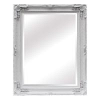 Maddelena Large White Mirror Furniture - La Maison Chic ...