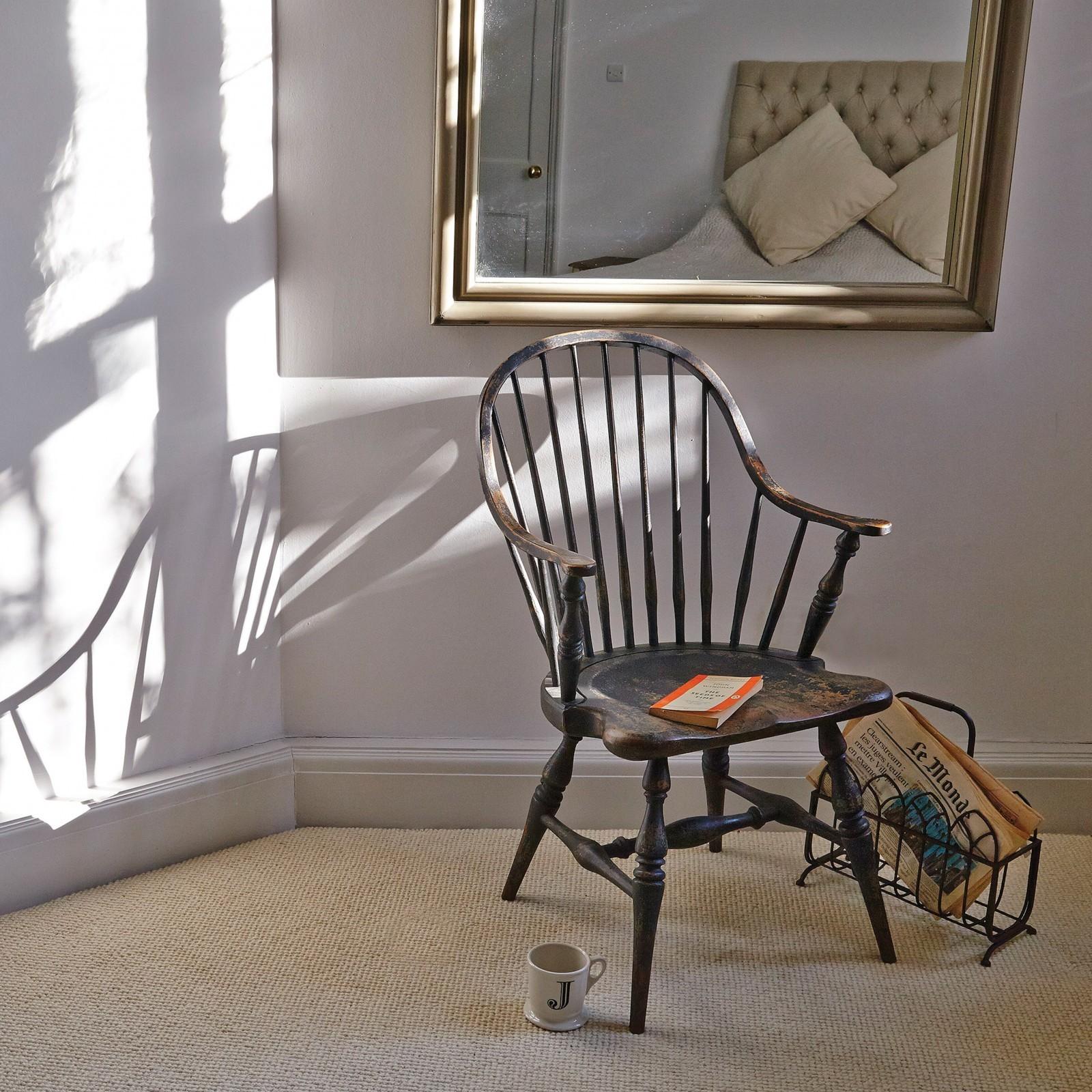Vintage Cottage Distressed Dining Chair Furniture  La