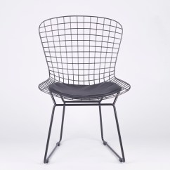 Wire Dining Chairs Aeron Chair Care And Maintenance Manual Black Mesh Furniture La Maison Chic
