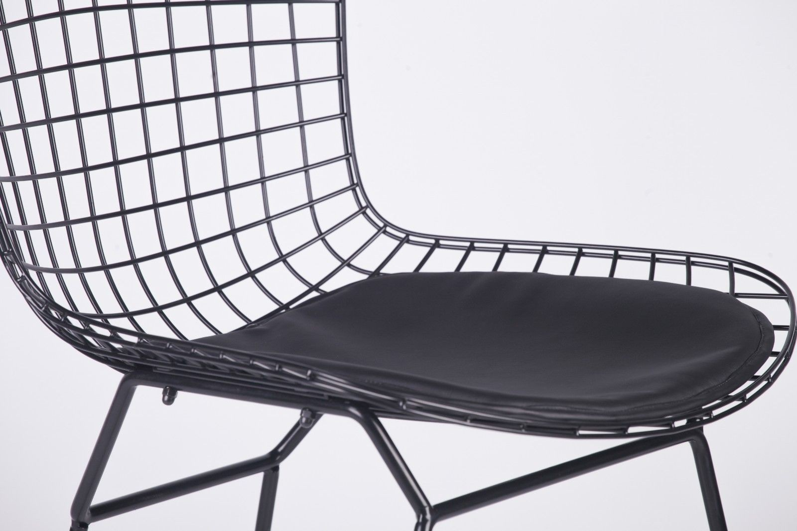 wire dining room chairs folding outdoor canada black mesh chair furniture la maison chic