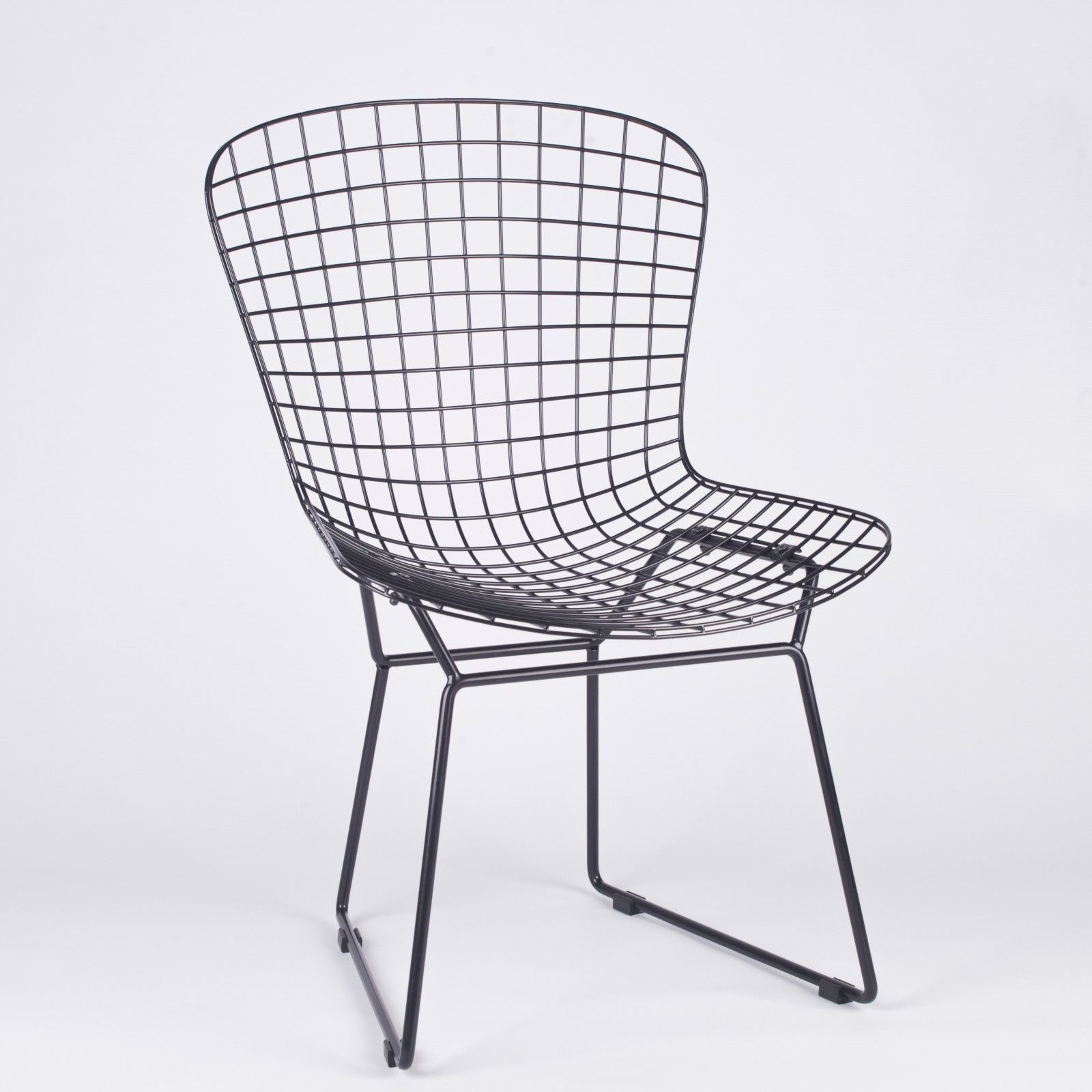 Black Wire Chair Black Mesh Wire Dining Chair Furniture La Maison Chic