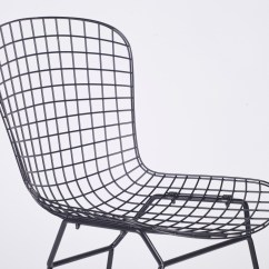 Wire Mesh Dining Chairs Uk Durable Office Black Chair Furniture La Maison Chic