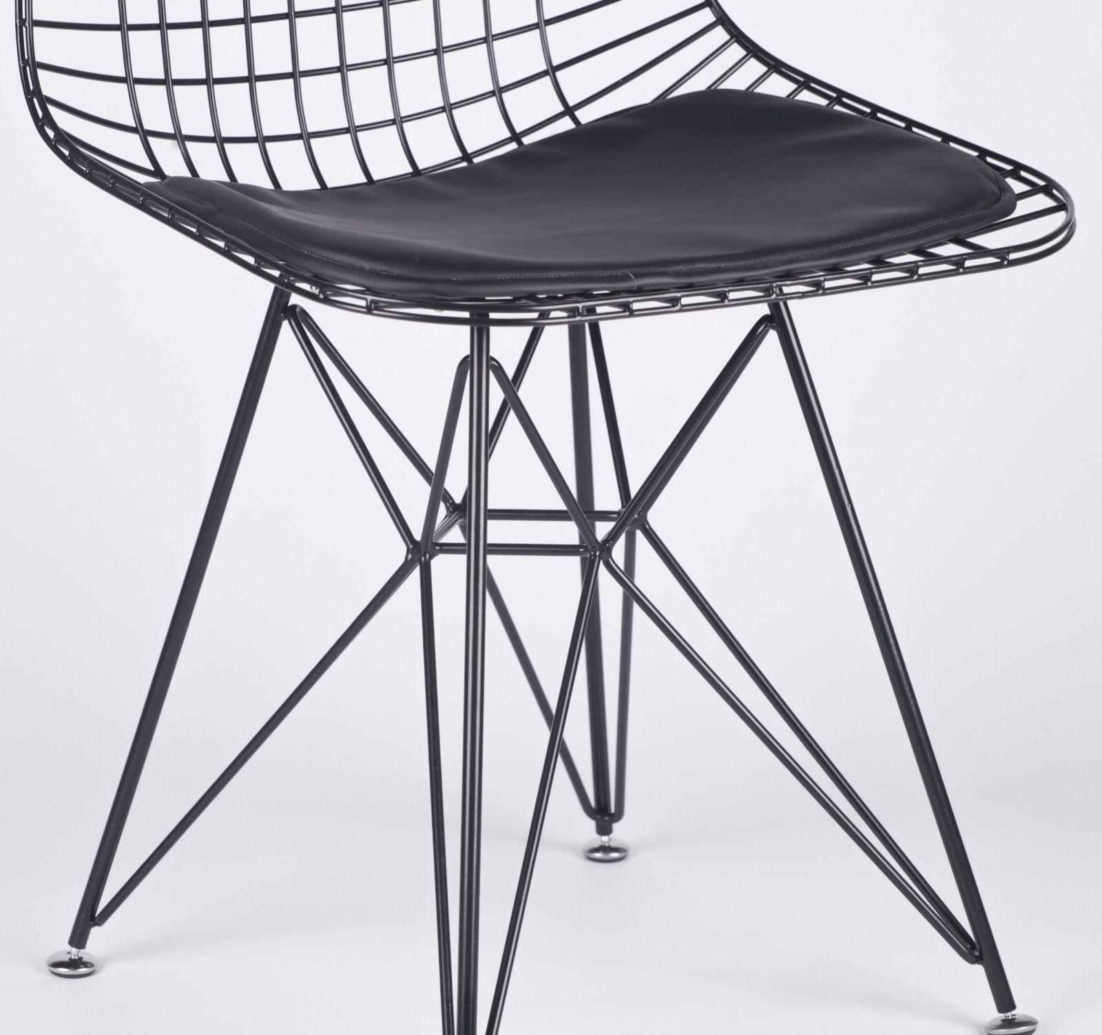 wire mesh dining chairs uk cloud nine chair black eiffel style furniture la