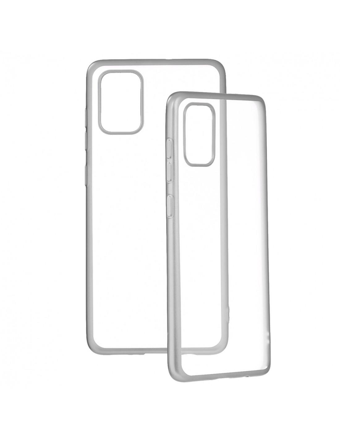 Funda Bumper Premium Plata para Samsung Galaxy A51