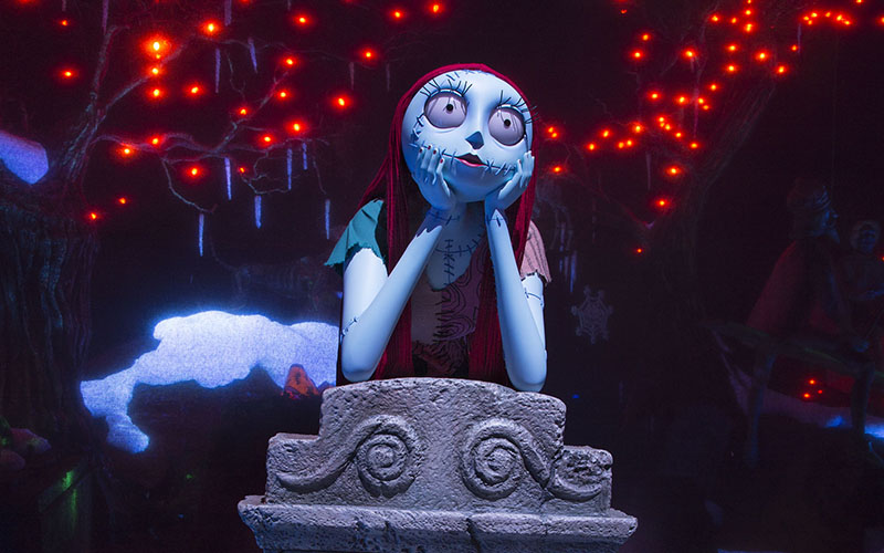Fall Graveyard Cemetery Wallpaper A New Nightmare Before Christmas Robot Joins Disneyland S