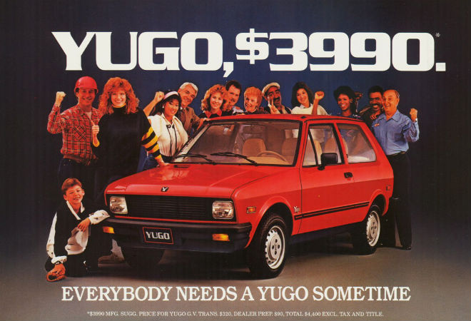 Image result for yugo