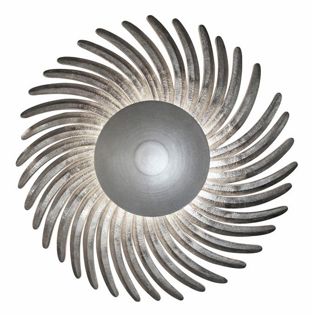 LED Wandlampe echt Silber gross  dekorativ