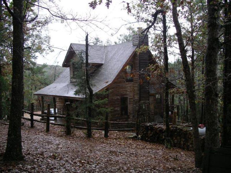 Secluded Ozark Cabin Retreat  Land for Sale  Fox  Stone