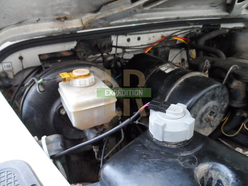 land rover wiring diagram colours edwards addressable fire alarm 300tdi low coolant - expedition