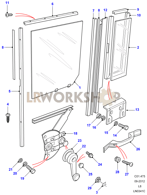 Subaru Forester Tailgate Parts Diagram. Subaru. Auto