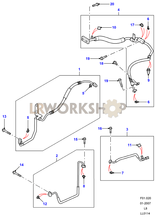 land rover defender wiring colour codes