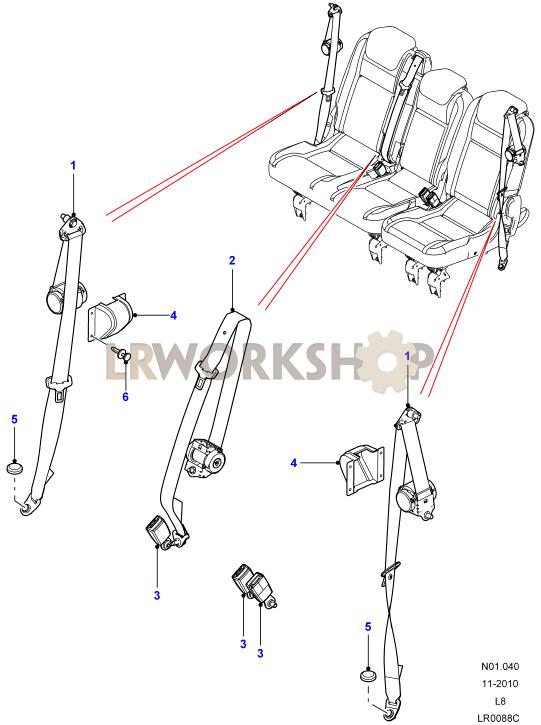 [DIAGRAM] Vehicle Seat Belt Diagram FULL Version HD