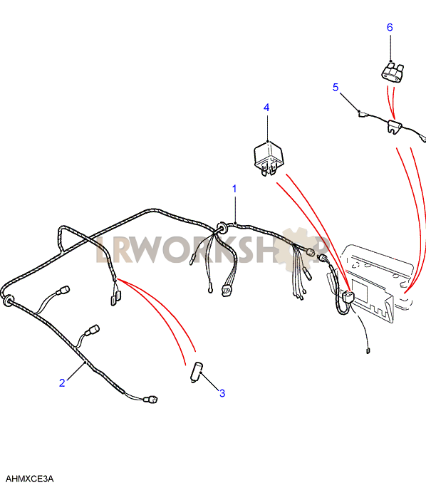 land rover defender wiring harness