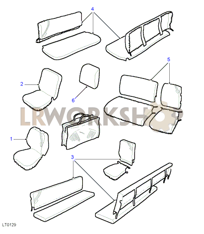 Range Rover Parts Diagrams STERLING Parts Diagram Wiring