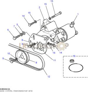 Power Steering PumpHobourn Eaton  25 NA  Land Rover