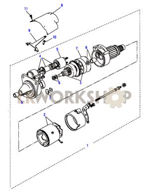 Starter Motor Valeo  200Tdi  Land Rover Workshop