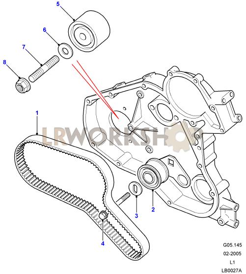 Land Rover Defender Timing Belt Labor