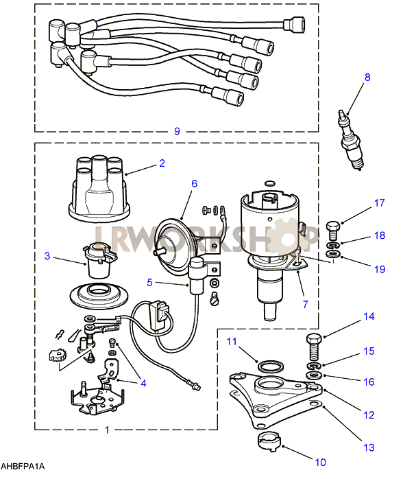 Range Rover Ignition And Msd Diagram