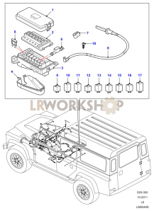 Defender Under Bonnet Fuse Box : 30 Wiring Diagram Images