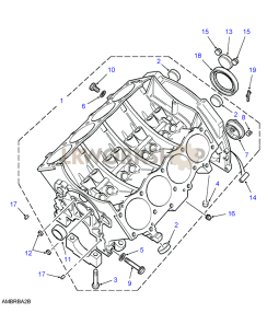 V8 Engine Diagram Of A Stripped Diagram Of VCR Wiring