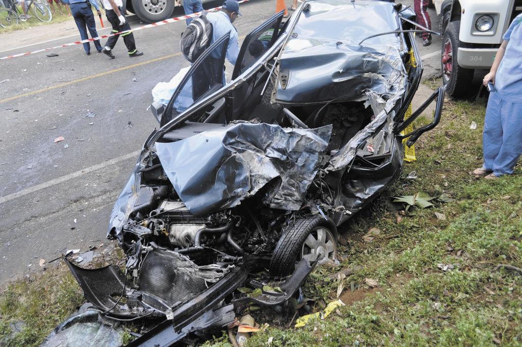 Trágico Accidente  La Prensa