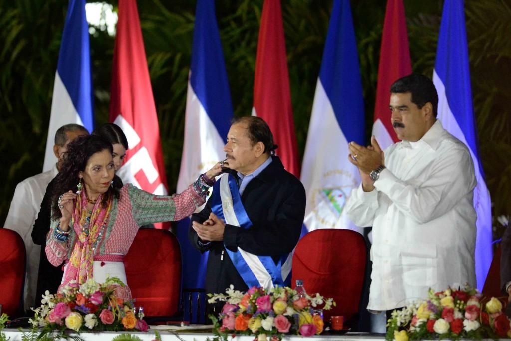 Managua, Nicaragua. 19/01/2017. Toma de posesion del presidente de Nicaragua Daniel Ortega Saavedraquien se prepara para sutercer periodopresidencial. Oscar Navarrete/ LA PRENSA.