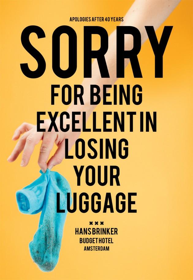 Hans Brinker Budget Hotel : Sorry