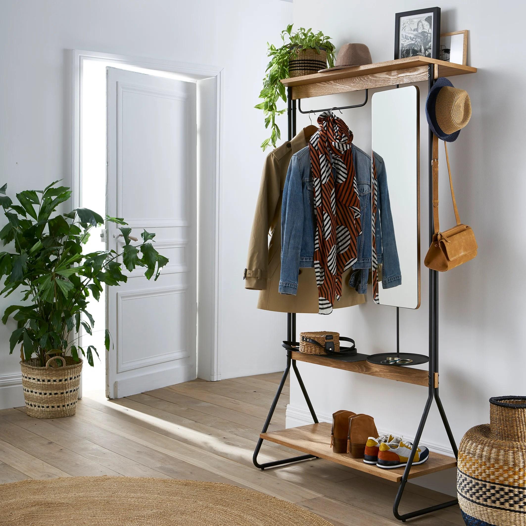 Set mobili ingresso design moderno scarpiera panca specchio appendiabiti casa. Come Scegliere L Arredamento Per L Ingresso Di Casa La Redoute