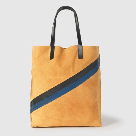 Sophisticated Suede Shopper