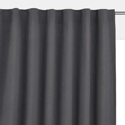 comment attacher un rideau trop long