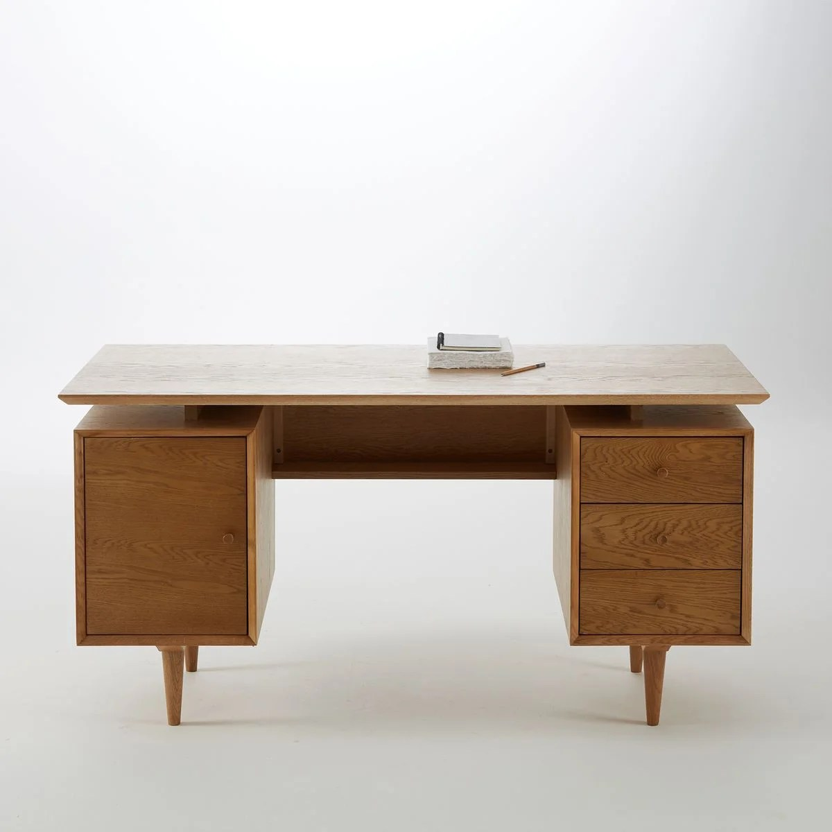 bureau en chene quilda bureau en chene quilda la redoute interieurs