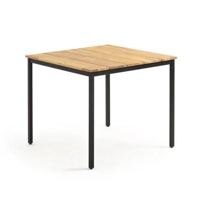 table carre jardin la redoute