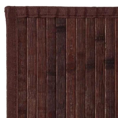 tapis marron beige la redoute