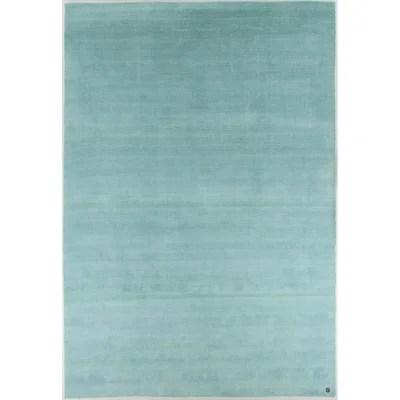 tapis shaggy vert la redoute