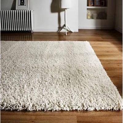 tapis blanc casse la redoute