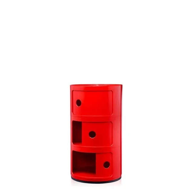 armoire metal rouge la redoute