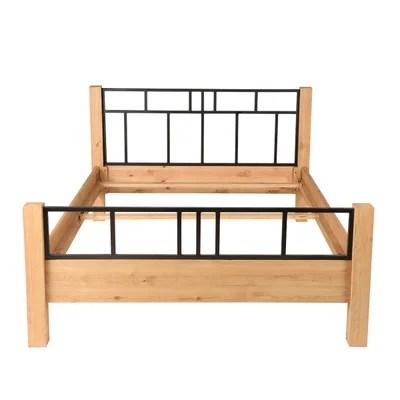 cadre de lit bois massif la redoute