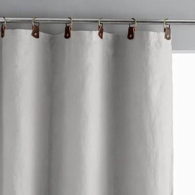 double rideaux gris la redoute