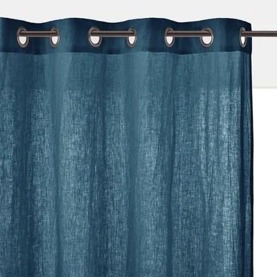 rideau bleu la redoute