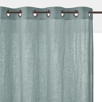 rideaux couleur lin naturel la redoute
