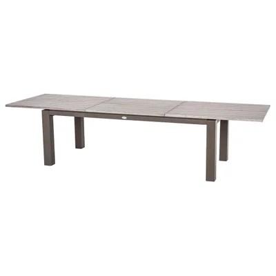 table de jardin extensible la redoute