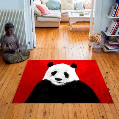 tapis bambou rouge la redoute