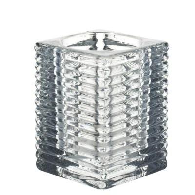 table carree en verre la redoute