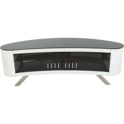 meuble tv verre la redoute
