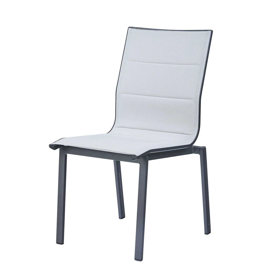 chaise de jardin aluminium la redoute