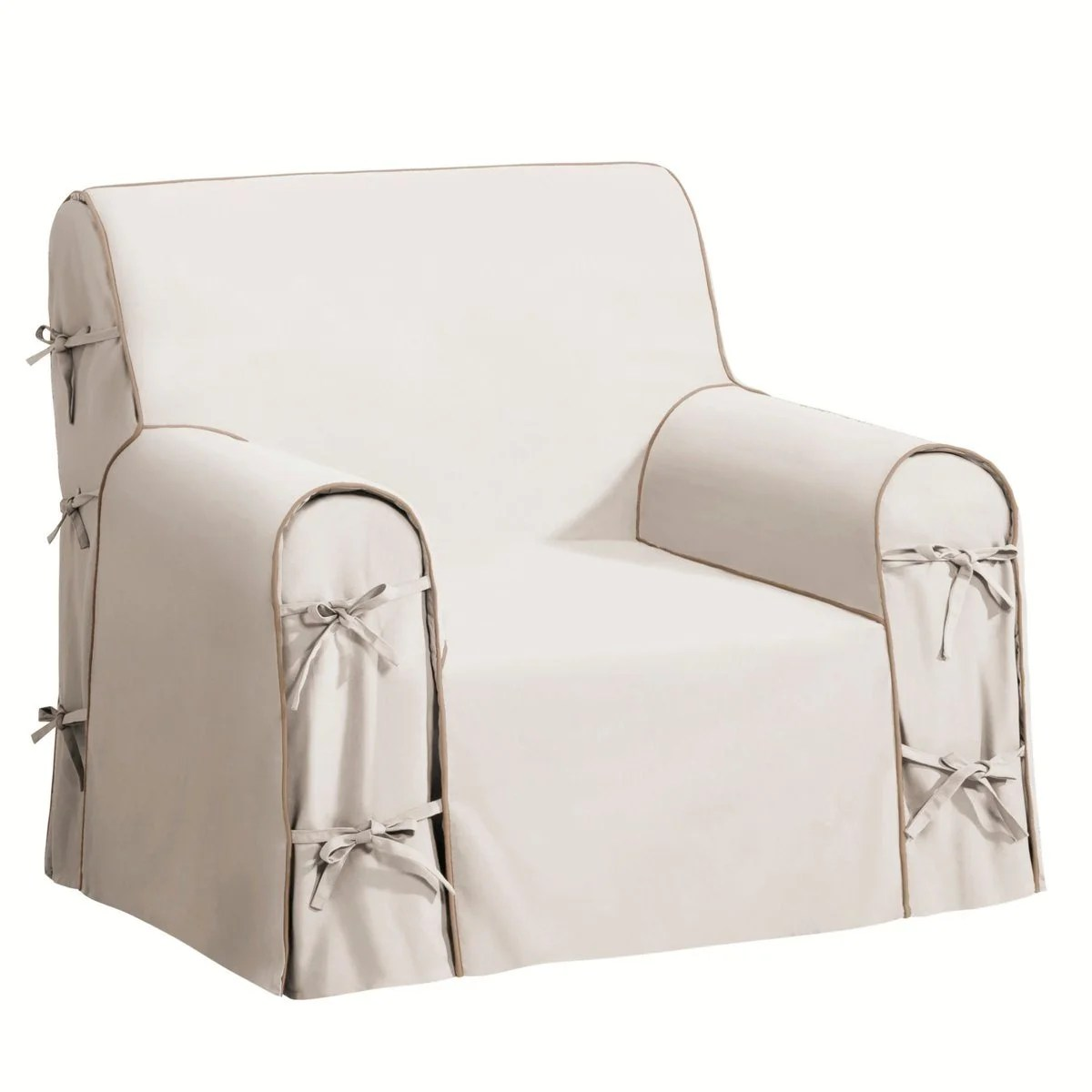 club chair covers vanity pottery barn sofa la redoute bridgy armchair cover interieurs