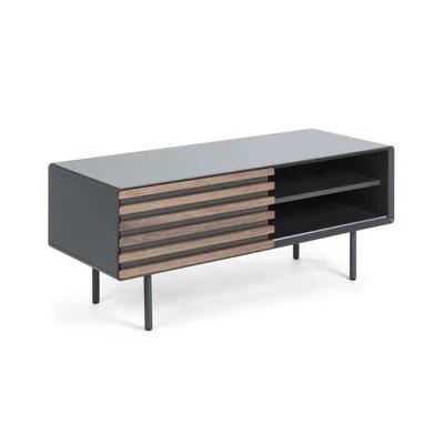 meuble tv hauteur 80 cm la redoute