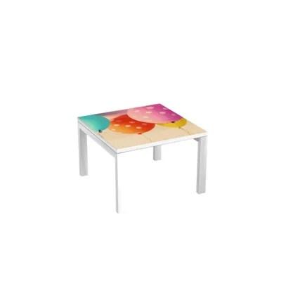 table basse multicolore la redoute