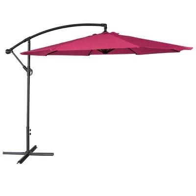 parasol teck la redoute
